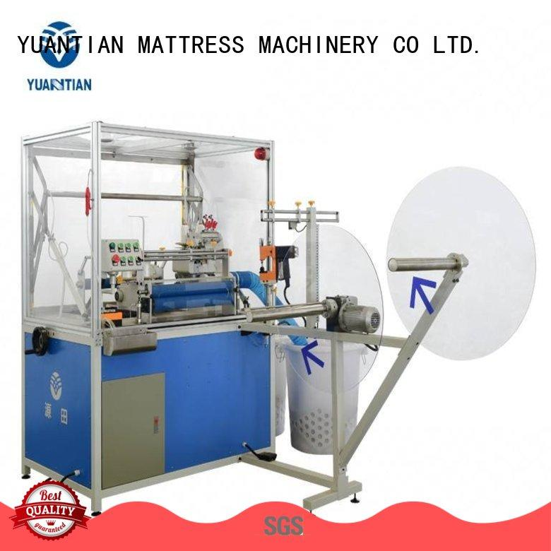 YUANTIAN Mattress Machines scientific flanging machine china at discount faculty