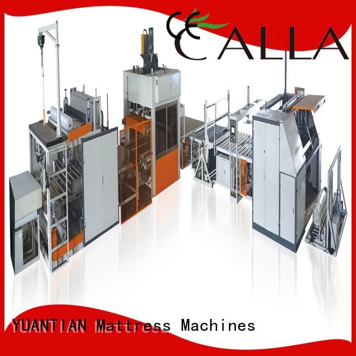 first-rate mattress wrapping machine yuantian YUANTIAN Mattress Machines