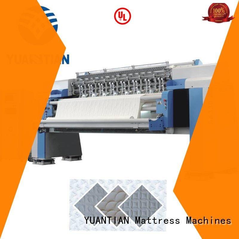 YUANTIAN Mattress Machines double Mattress Quilting Machine factory easy-operation