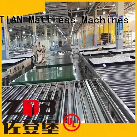 YUANTIAN Mattress Machines Auto Mattress Conveyor Production Line supplier workshop