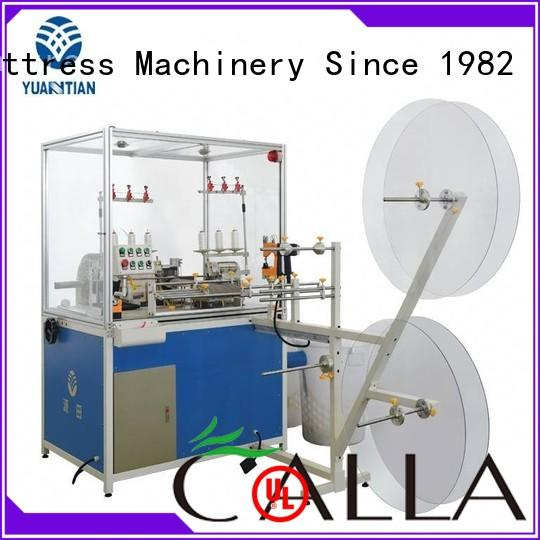 YUANTIAN Mattress Machines useful flanging machine manufacturers factory price faculty