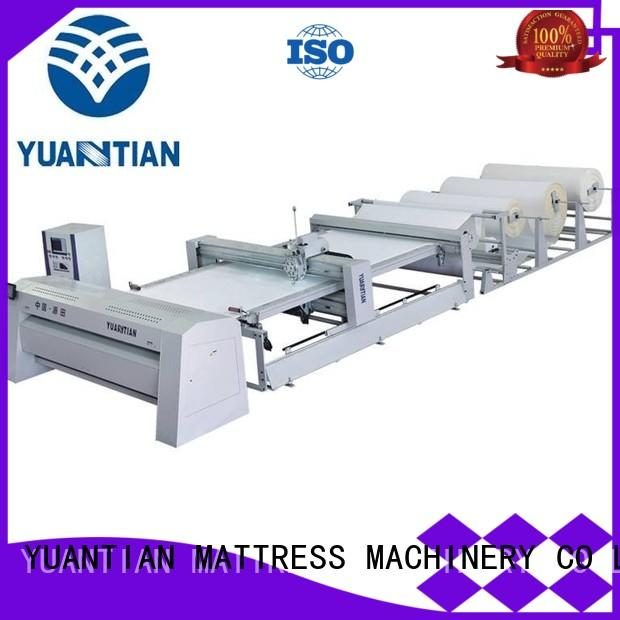 YUANTIAN Mattress Machines speed quilting machine for mattress equipment easy-operation