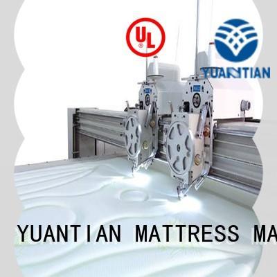 YUANTIAN Mattress Machines quilting quilting machine for mattress factory workshop