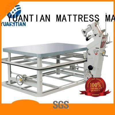 YUANTIAN Mattress Machines fine- quality mattress edge banding machine free design workforce