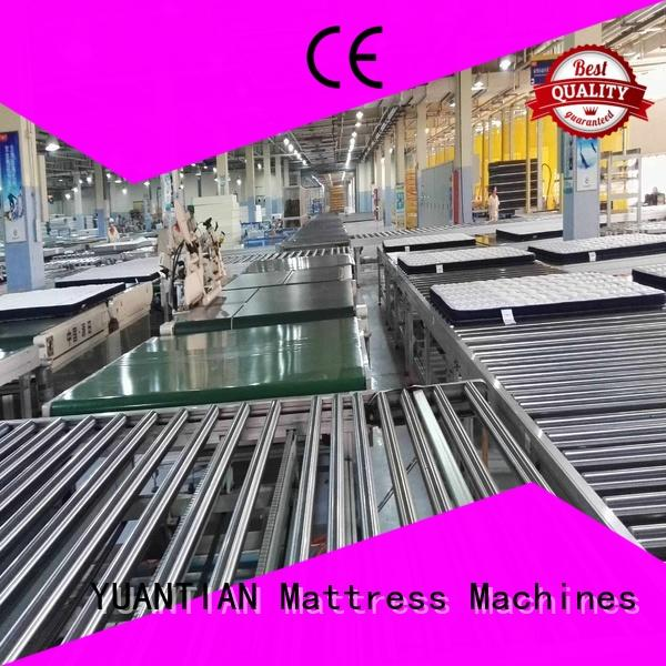 high-quality Auto Mattress Conveyor Production Line yuantian