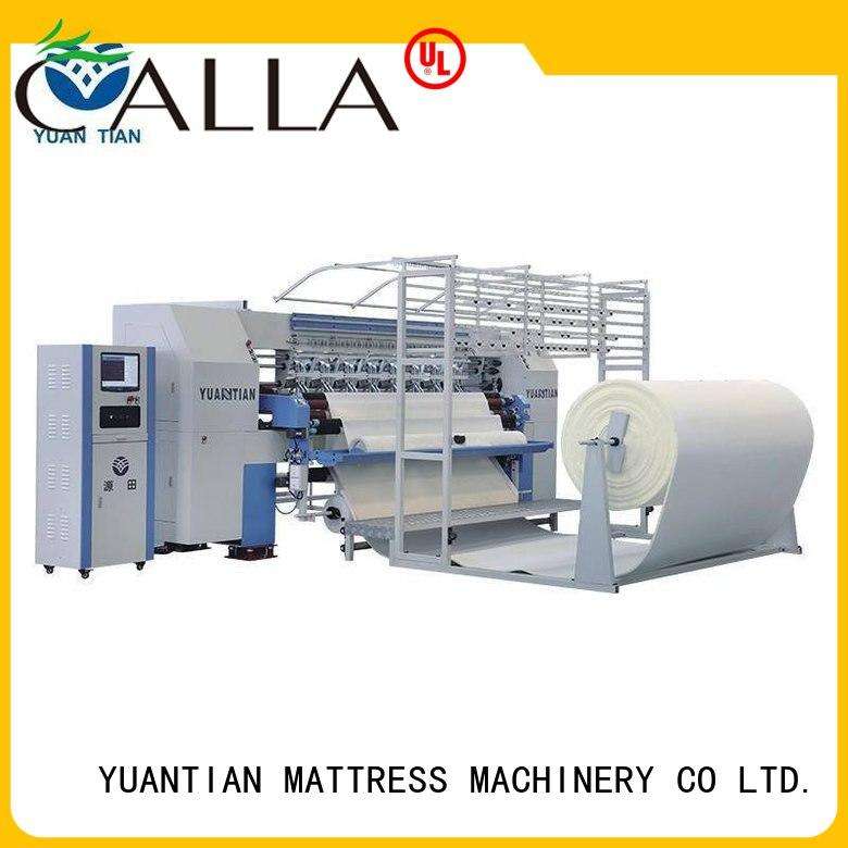 quilting machine for mattress price heads single machine YUANTIAN Mattress Machines Brand