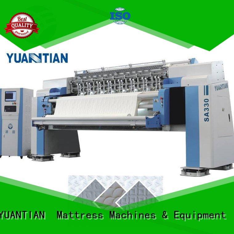 YUANTIAN Mattress Machines Mattress Quilting Machine equipment factory