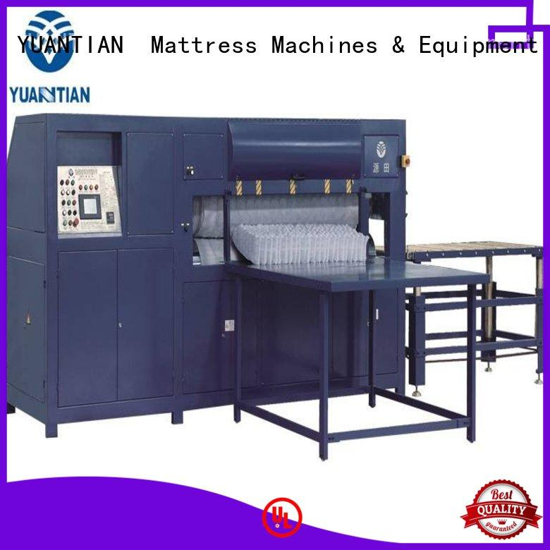 YUANTIAN Mattress Machines automatical mattress packing machine free quote faculty