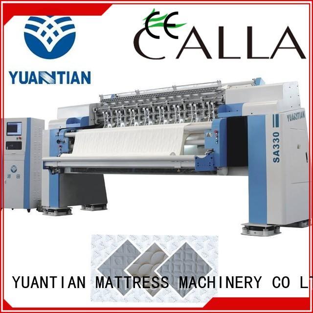 YUANTIAN Mattress Machines Mattress Quilting Machine manufacturer yuantian