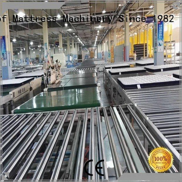 twin mattress to king converter automatic line Auto Mattress Conveyor Production Line