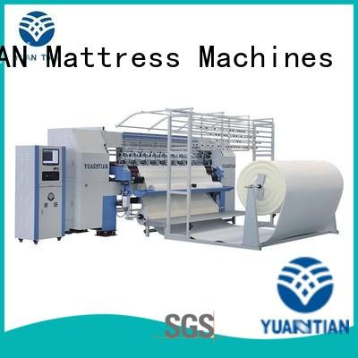 Quality YUANTIAN Mattress Machines Brand quilting machine for mattress price heads