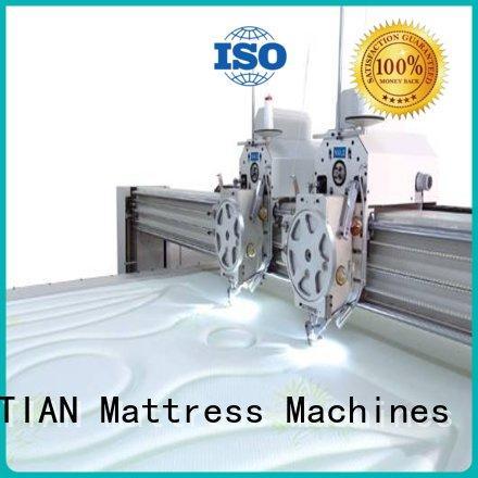 YUANTIAN Mattress Machines needle quilting machine for mattress supplier workshop