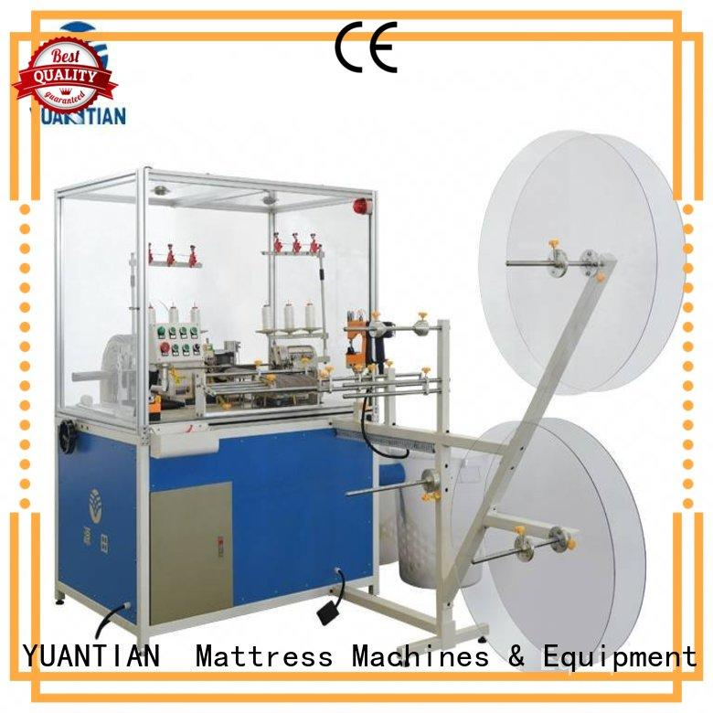 Double Sewing Heads Flanging Machine heads machine YUANTIAN Mattress Machines Brand