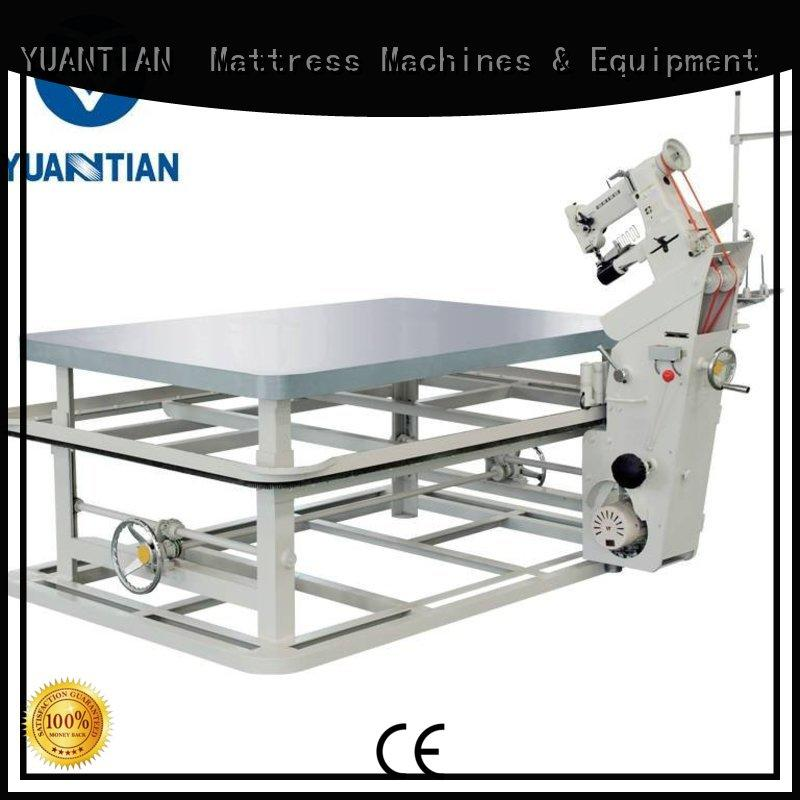 YUANTIAN Mattress Machines Brand tape machine top mattress tape edge machine manufacture