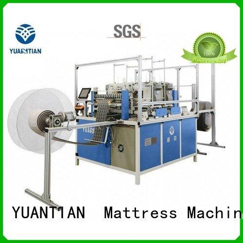 YUANTIAN Mattress Machines label border Mattress Sewing Machine