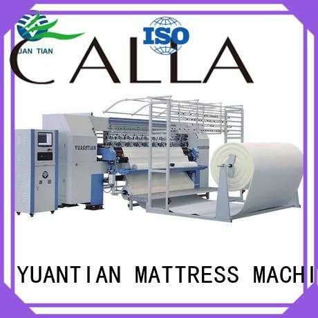 YUANTIAN Mattress Machines double quilting machine for mattress producer easy-operation