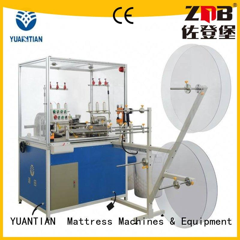 fine- quality Mattress Flanging Machine factory price yuantian