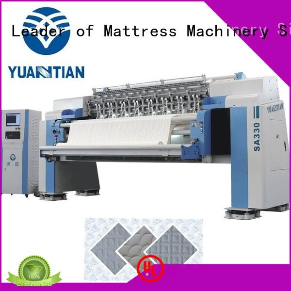 YUANTIAN Mattress Machines speed quilting machine for mattress  manufacturer easy-operation