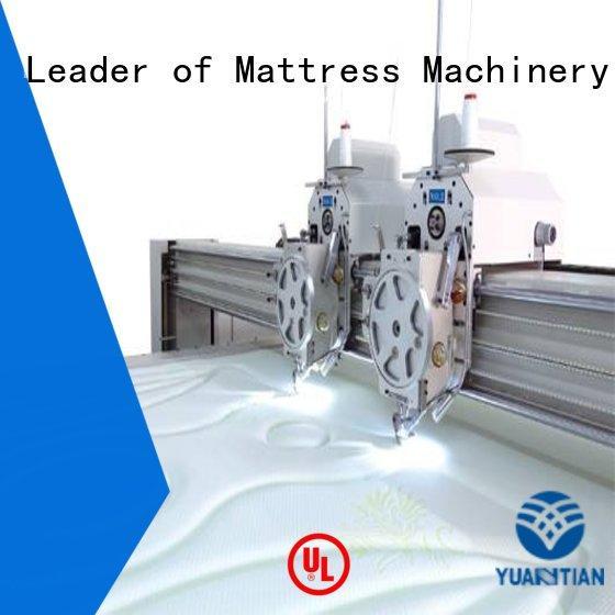 multineedle quilting machine for mattress price highspeed YUANTIAN Mattress Machines Brand quilting machine for mattress highspeed