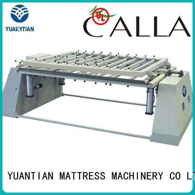 foam mattress making machine straightening pneumatic packing YUANTIAN Mattress Machines Brand company