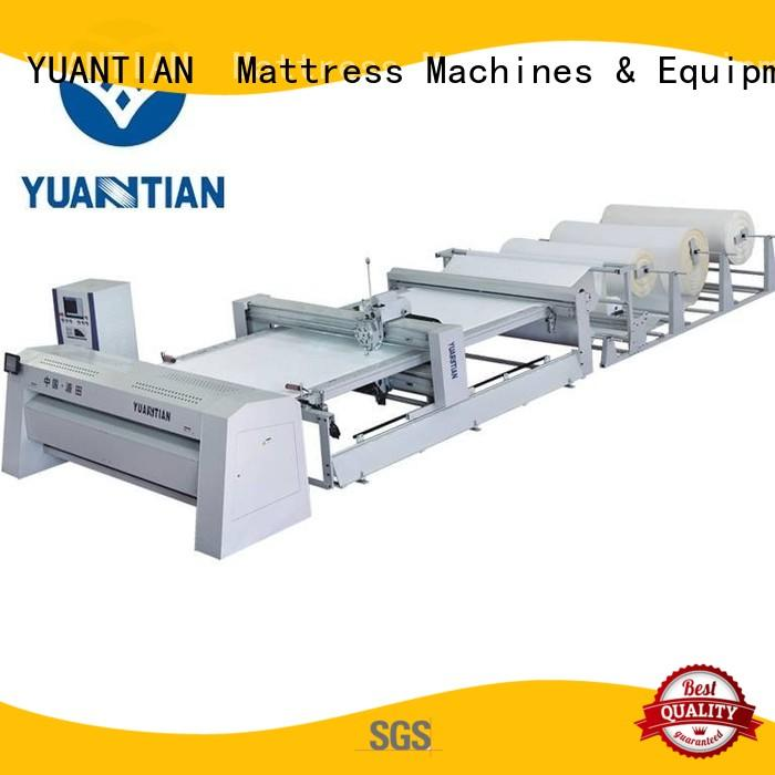 YUANTIAN Mattress Machines quilting machine for mattress  manufacturer easy-operation