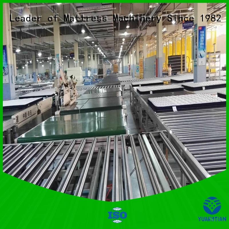 twin mattress to king converter line Auto Mattress Conveyor Production Line mattress company
