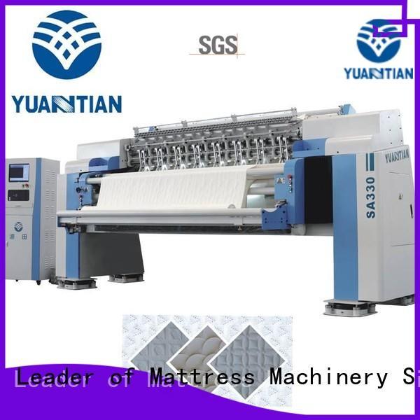 YUANTIAN Mattress Machines mattress multi needle quilting machine factory