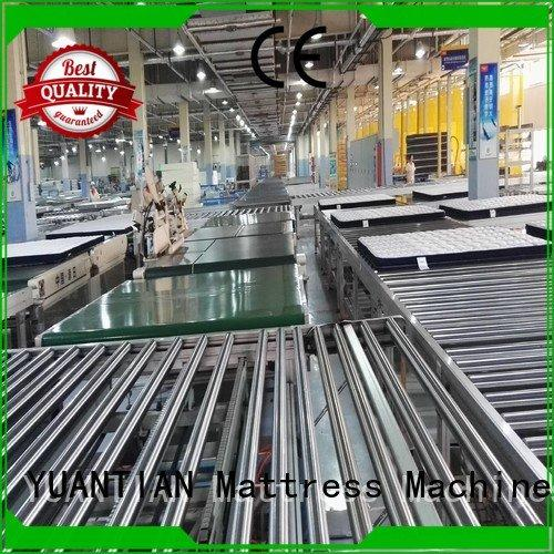 Hot twin mattress to king converter automatic YUANTIAN Mattress Machines Brand