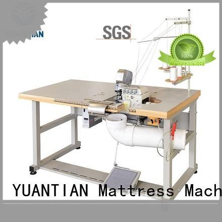 heads Multi-function Flanging Machine bulk production workshop YUANTIAN Mattress Machines