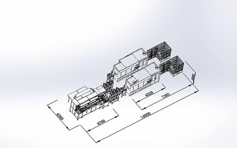 DT + DX-012数控袋装弹簧黏胶组合机
