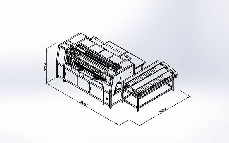 DN-3A-2DN-6 Automatic Pocket Spring Assembling Machine