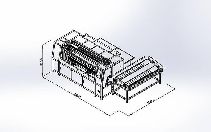 DN-3A-2DN-6 Máquina de ensamblaje automática de muelles de bolsillo