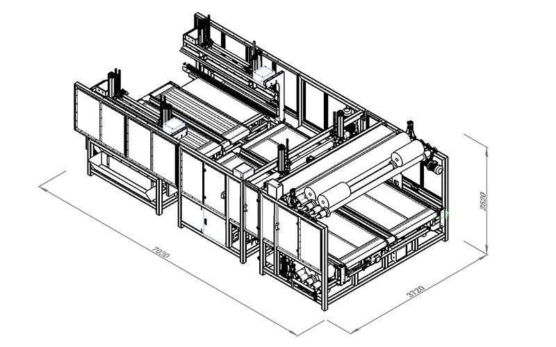 BZ-3自动床垫包装机