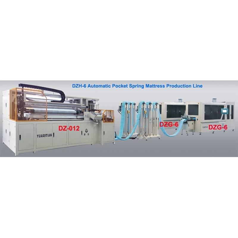 DZH-6  Automatic Pocket-Spring Production Line
