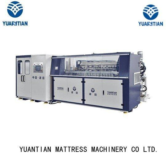 Wholesale unit tx011 Automatic Bonnell Spring Coiling Machine YUANTIAN Mattress Machines Brand
