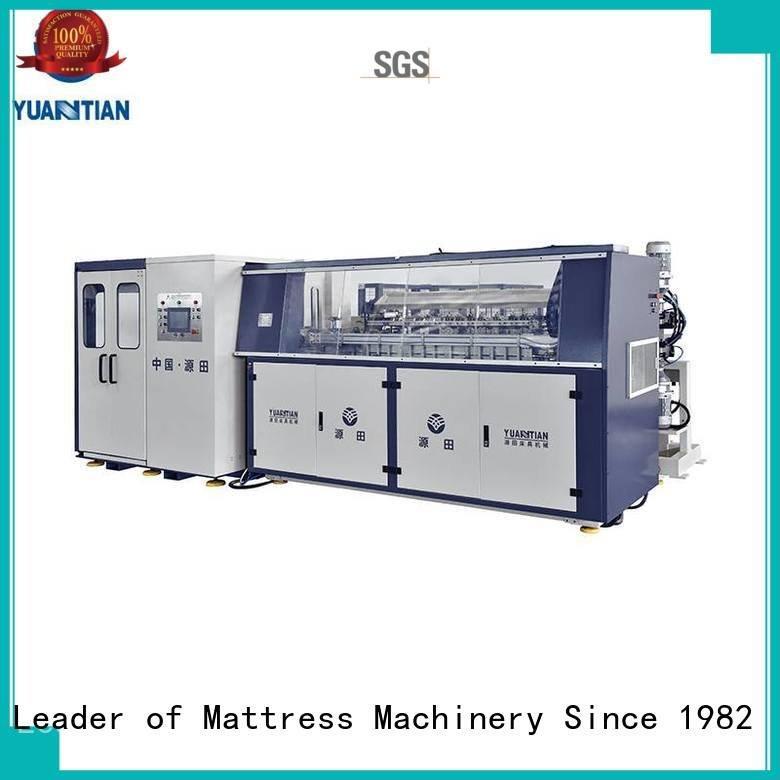 automatic unit bonnell bonnell spring machine YUANTIAN Mattress Machines