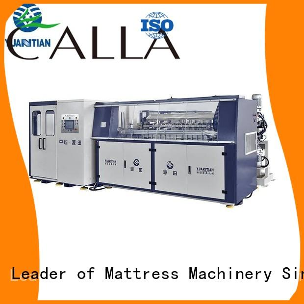 YUANTIAN Mattress Machines Automatic Bonnell Spring Coiling Machine bulk production faculty