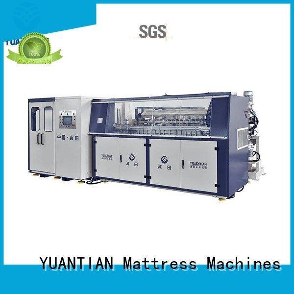 machine automatic unit production YUANTIAN Mattress Machines Automatic Bonnell Spring Coiling Machine
