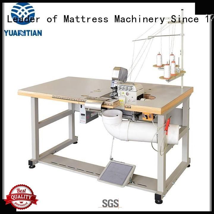 YUANTIAN Mattress Machines double serge machine check now factory