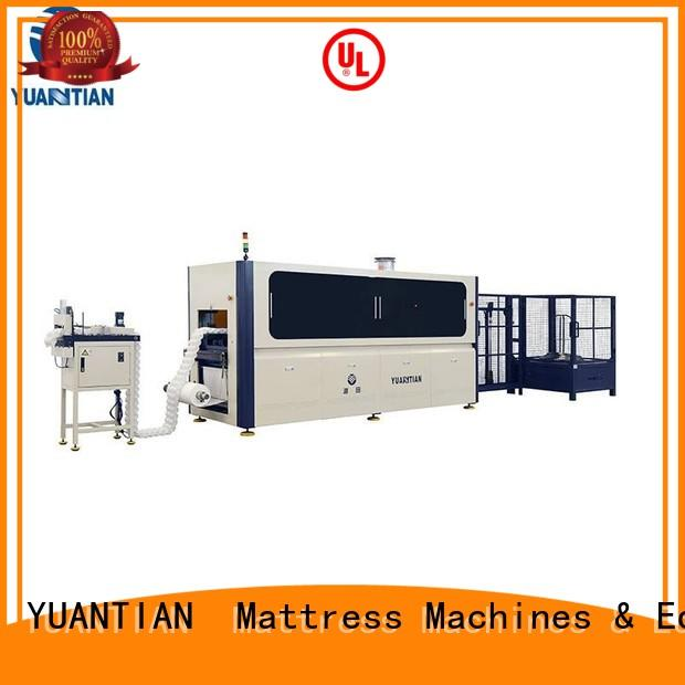 quality Automatic High Speed Pocket Spring Machine bulk production faculty