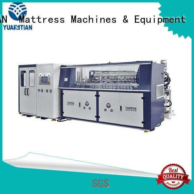 bonnell spring machine production spring coiler YUANTIAN Mattress Machines