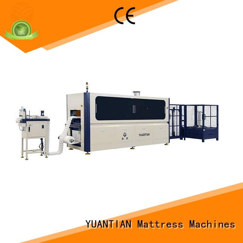 speed production Automatic High Speed Pocket Spring Machine YUANTIAN Mattress Machines Brand