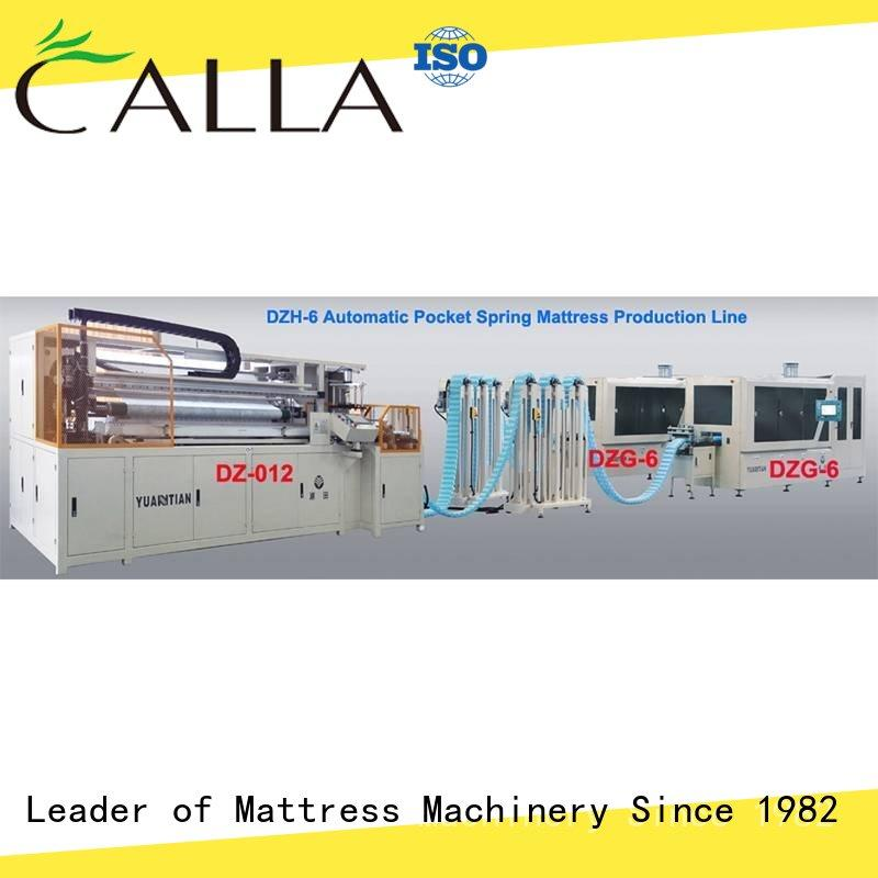 YUANTIAN Mattress Machines reliable spring coiling machine free design workshop