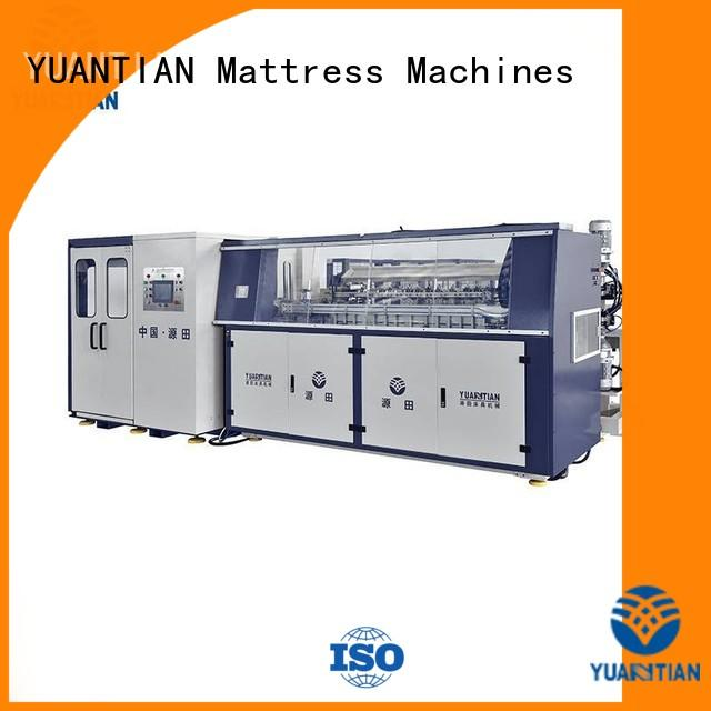 production unit bonnell spring machine automatic bonnell YUANTIAN Mattress Machines Brand