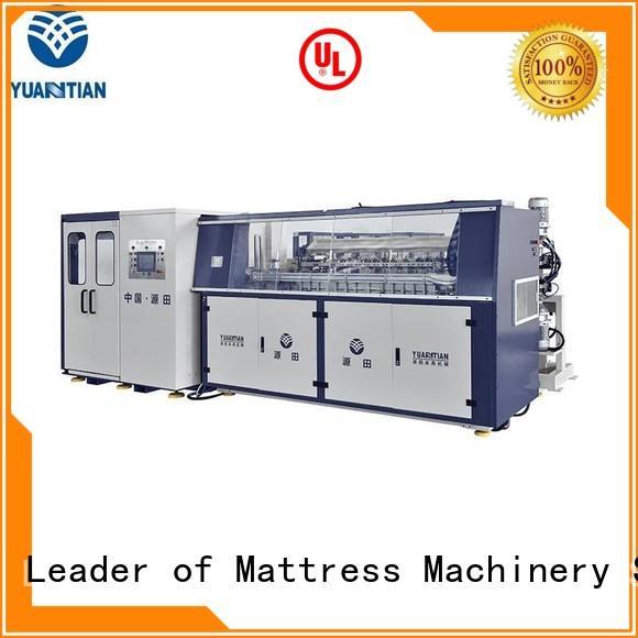 coiler unit bonnell spring machine automatic YUANTIAN Mattress Machines company