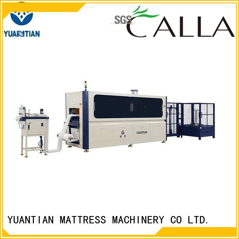 Automatic Pocket Spring Production Line easy-operation YUANTIAN Mattress Machines