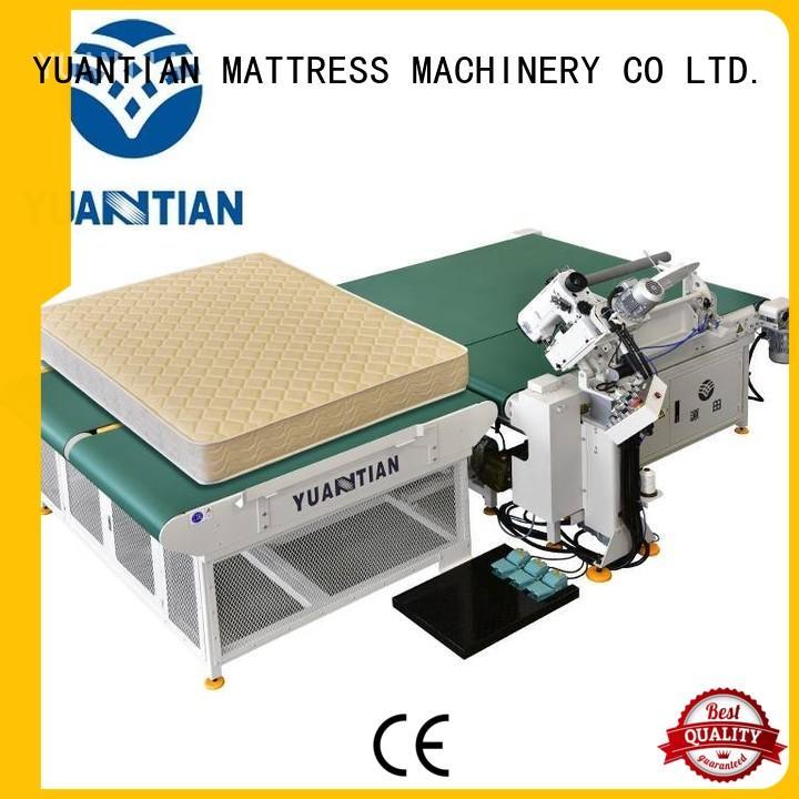 YUANTIAN Mattress Machines Brand binding table mattress tape edge machine manufacture