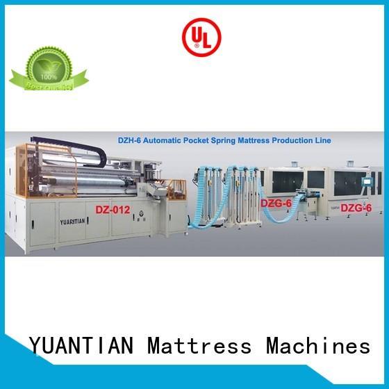 YUANTIAN Mattress Machines Automatic High Speed Pocket Spring Machine bulk production workshop