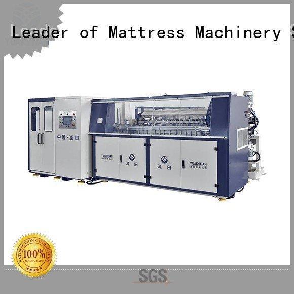 production Quality bonnell spring machine YUANTIAN Mattress Machines Brand machine Automatic Bonnell Spring Coiling Machine spr