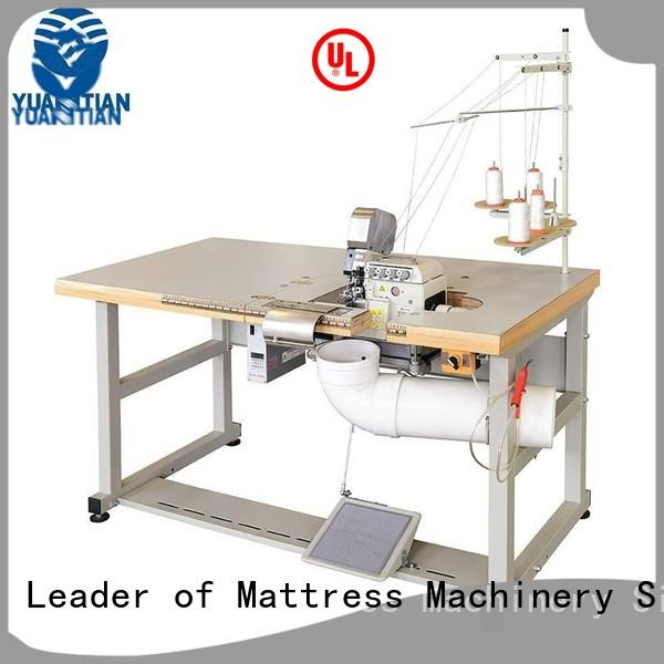 Double Sewing Heads Flanging Machine double Mattress Flanging Machine YUANTIAN Mattress Machines Brand